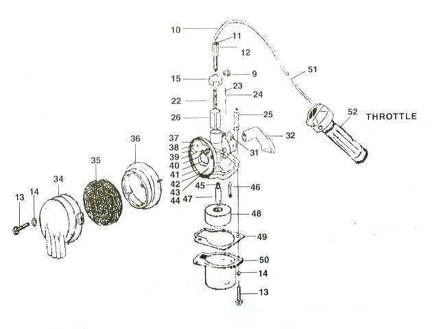 replacement parts - 2-stroke parts - fuel  u0026 exhaust - page 1